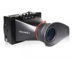 """Feelworld S350 SDI/HDMI Electronic View Finder 3.5"""" 800x480 for Cinema & Broadcasting"""