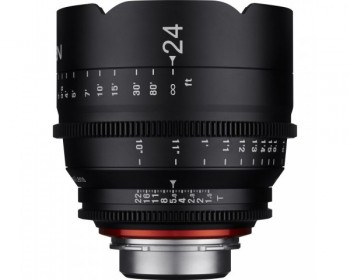 Xeen 24mm T1.5 Lens 4K for Canon EF Mount
