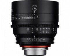 Xeen 50mm T1.5 Lens 4K for Canon EF Mount