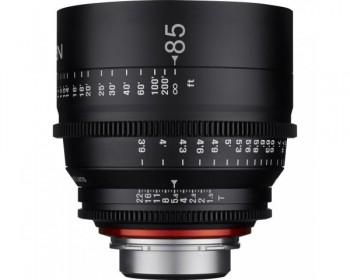 Xeen Obiettivo 85mm T1.5 Cinema 4K per Canon EF Mount