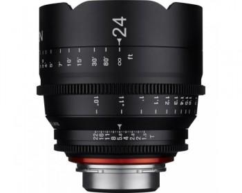 Xeen 24mm T1.5 Lens 4k Cinema for PL Mount