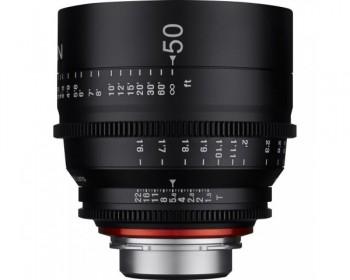 Xeen Obiettivo 50mm T1.5 Cinema 4K per PL Mount
