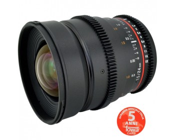Samyang Obiettivo V-DSLR 24mm T/1,5 ED AS IF UMC per Canon