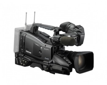 "Sony PXW-X320 1/2"" multi codec broadcast shoulder camera, incl. 16x zoom lens"