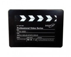DIGISTOR 1TB SSD Drive Professional Series for 4K Video Capture DIG-PVD1000