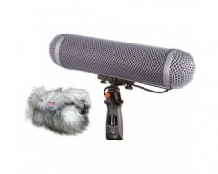 Rycote Windshield Kit 4 Kit Antivento 4 - comprendente Sospensione Modulare Media 68 duo per Rode NTG3 and NTG4
