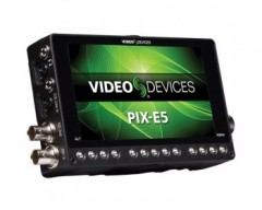 "Video Devices PIX-E5 5"" 4K Recording Video Monitor HDMI / SDI"