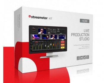 JVC Streamstar KIT HDMI live production and streaming software