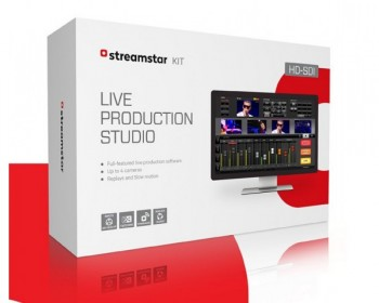 JVC Streamstar KIT HD-SDI live production and streaming software