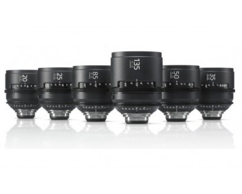 Sony SCL-PK6/M CineAlta 4K PL Mount Lens Pack x6 - 20/25/35/50/85/135mm (Meter Model)