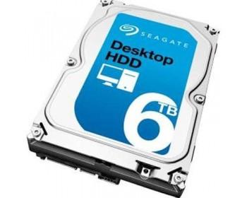 Seagate Desktop HDD ST6000DM001 - hard drive - 6 TB - SATA 6Gb/s