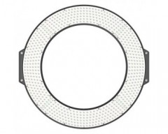 F&V R720S Lumic Bi-Color LED Ring Light, (Lux@1m) 4632 lx