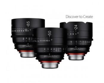 Samyang Xeen 3 Cine Lens Kit 24/50/85mm
