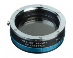 FotodioX Vizelex ND Throttle Adapter for Canon EF/EF-S Lens to Micro Four Thirds Cameras