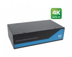 InLine video Wall Splitter, Ingresso 2x DisplayPort - Uscita 4x DVI-D, 4K2K, supporta Video Wall (Multischermo) 2x2