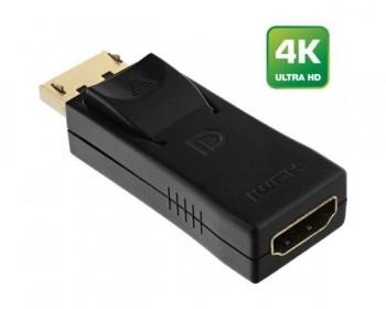 InLine Adattatore da DisplayPort maschio a HDMI femmina, 1920x1200 / 1080p