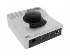 InLine Convertitore audio digitale - analogico, ingresso USB uscita Hi-Fi RCA (24-bit 96kHz), amplificatore cuffie intergrato