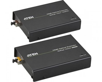 "Aten VE882 Extender - Estensore HDMI Audio/Video + IR + RS232 tramite un unico cavo fibra ottica (600m)"""