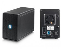 Akitio NT2 dual-bay RAID storage enclosure USB3.1