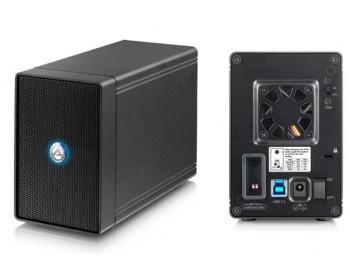 Akitio NT2 dual-bay RAID storage enclosure USB3.1