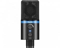 iRig MIC Studio - Microfono a diaframma largo per sistemi Android, iOS, PC e MAC - nero