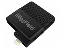 IK Multimedia iRig Mic Field Microfono Lightning per iOS iPhone iPad & Mac