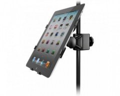 IK Multimedia iKlip 2 Mic Stand Adapter per iPad 2nd, 3rd, 4th Gen & iPad Air