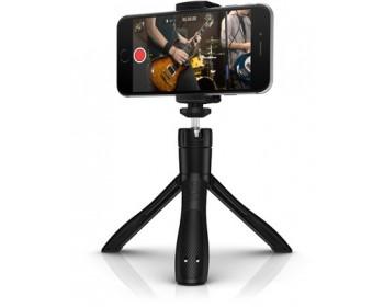 IK Multimedia iKlip Grip selfie stick e treppiede per smartphone e fotocamera