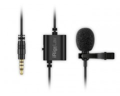 IK Multimedia iRig Mic Lav Broadcast audio, Lavalier/lapel/clip-on microphone for mobile devices