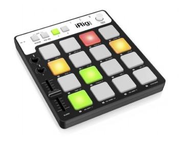 IK Multimedia iRig Pads MIDI Groove Controller per iOS & Mac/PC (lightning/USB)