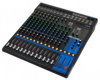 Yamaha MG16XU - 16-Input Mixer with Built-In FX and 2-In/2-Out USB Interface