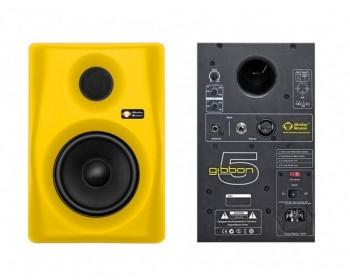 "Monkey Banana Gibbon 5 Yellow Monitor Attivo 5 1/4"" 45W+35W (Single)"