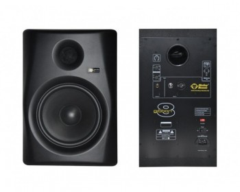 "Monkey Banana Gibbon 8 Black Monitor Attivo 8"" 80W+30W (Single)"