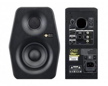 """Monkey Banana Turbo 4 Black Monitor Attivo 4"""" 30W+20W (Single)"""