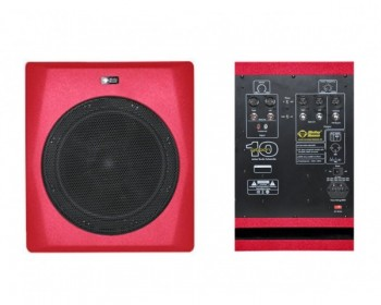 "Monkey Banana Gibbon 10 Subwoofer Red Attivo 10"" 300W"