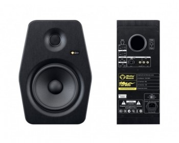 """Monkey Banana Turbo 8 Black Monitor Attivo 8"""" 80W+30W (Single)"""