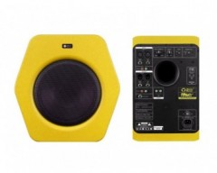 "Monkey Banana Turbo 10s Subwoofer Yellow Sub Woofer 10"" 300W"