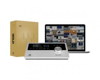 Apogee Quartet 12 IN x 8 OUT USB Audio Interface e studio control center con Waves Gold Plugin Bundle*