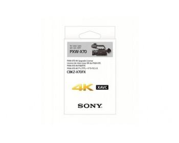 Sony 4K Upgrade per PXW-X70 per la registrazione interna in 4K in QFHD XAVC Long MXF XAVC-L