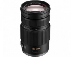 Panasonic H-FS100300E Obiettivo Zoom Lumix G vario lens 100-300mm (equiv. 200-600mm), F4,0-5,6 ASP