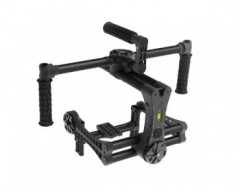 ACR The Beast V2 package - The Beast 3-axis brushless gimbal ready for handheld operations.