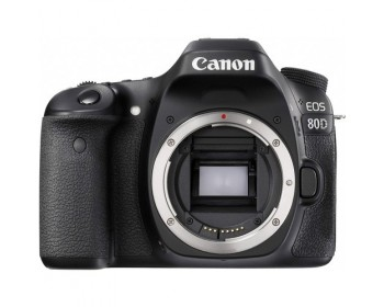 Canon EOS 80D 24.2 Megapixel APS-C Digital SLR Camera Body Only