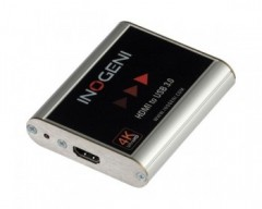INOGENI USB 3.0 4K HDMI Video Capture Card