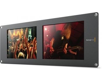Blackmagic Design SmartView Duo - Doppio schermo LCD da 8 pollici