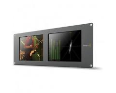 Blackmagic Design SmartScope Duo 4K - Doppio schermo LCD da 8 pollici