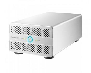 AKiTio Thunder3 Duo Pro Thunder3 Duo Pro w/Hardware RAID 2-bay Thunderbolt3x2 (USB-C)