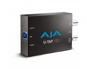 AJA U-TAP USB 3.0 Powered SDI Capture Device
