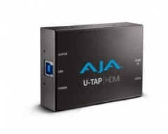 AJA U-TAP USB 3.0 Powered HDMI Capture Device