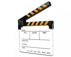 ikan TS01 23x28cm Ciak Cinematografico Bianco per Apple