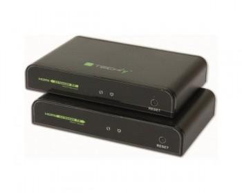 TECHLY - IDATA EXTIP-383IR - Extender HDMI HDbitT con IR su Cavo Cat. 5E / 6 fino a 120m